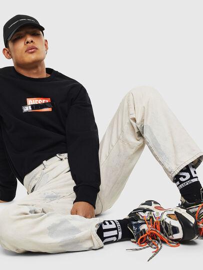 Diesel - S-GIRK-S4, Black - Sweaters - Image 4