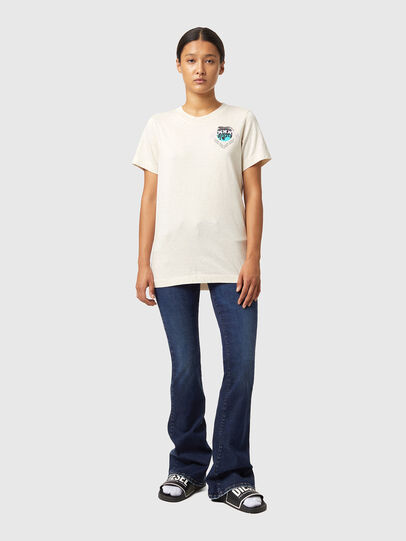 Diesel - T-LILLY-B1, White - T-Shirts - Image 4