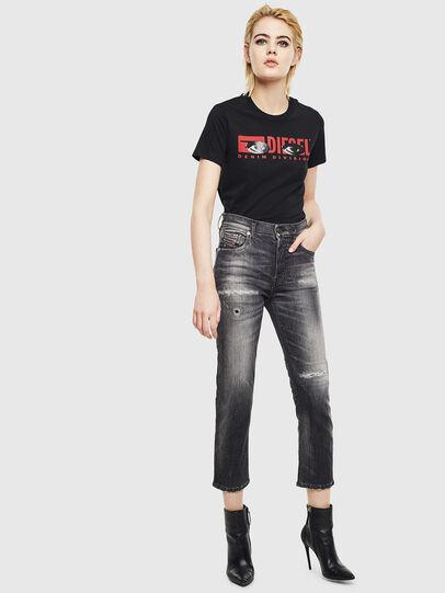 Diesel - T-SILY-YD, Black - T-Shirts - Image 5