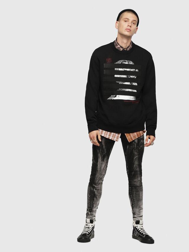 Diesel - S-BAY-YB, Black - Sweaters - Image 4