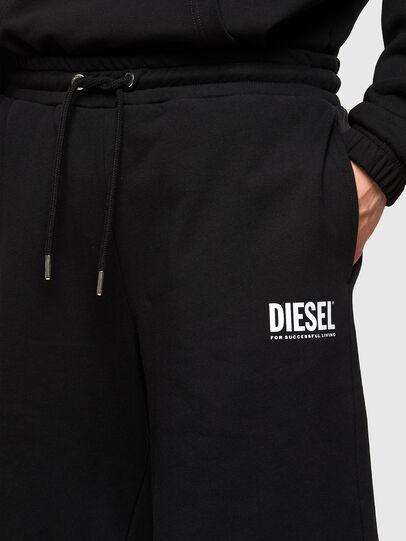 Diesel - P-CROWN-LOGO, Black - Shorts - Image 3