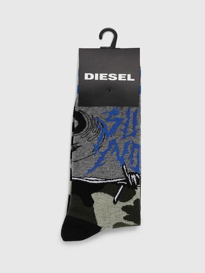 Diesel - SKM-RAY, Grey - Socks - Image 2