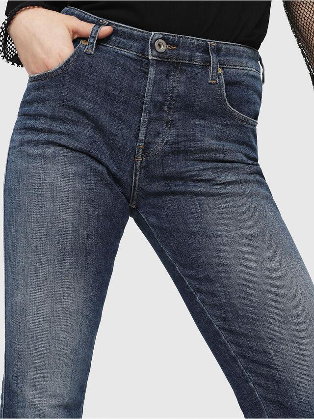 Diesel - Babhila 081AI, Dark Blue - Jeans - Image 3