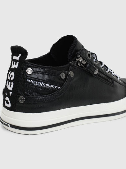 Diesel - EXPO-ZIP LOW W, Black - Sneakers - Image 4