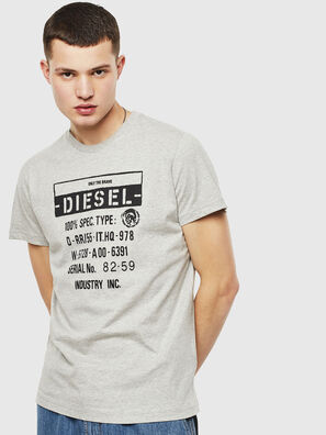 T-DIEGO-S1, Grey - T-Shirts