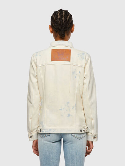 Diesel - DE-NALI-SP, Blue/White - Denim Jackets - Image 2