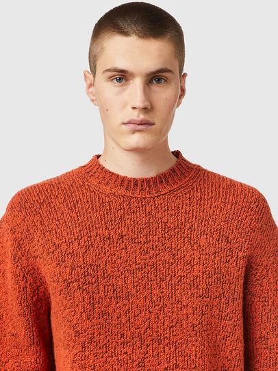 Diesel - K-EVANS, Orange - Knitwear - Image 3