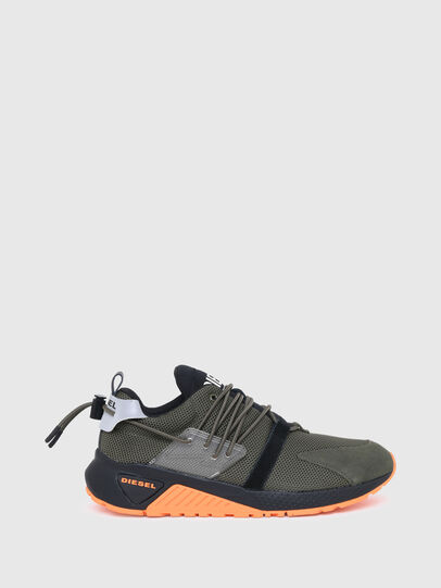Diesel - S-KB UP LACE, Military Green - Sneakers - Image 1