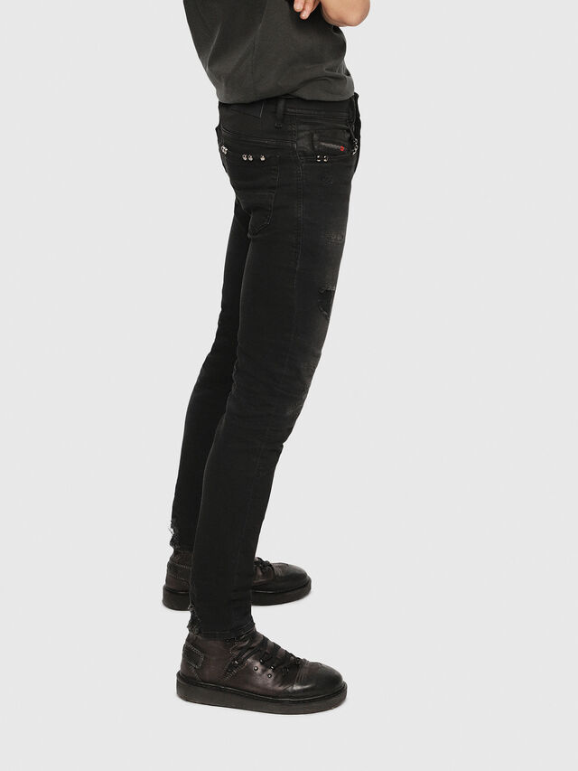 Diesel - Thommer 0090N, Black/Dark grey - Jeans - Image 2
