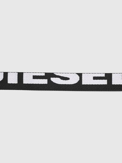 Diesel - B-MASER, Black/White - Belts - Image 4