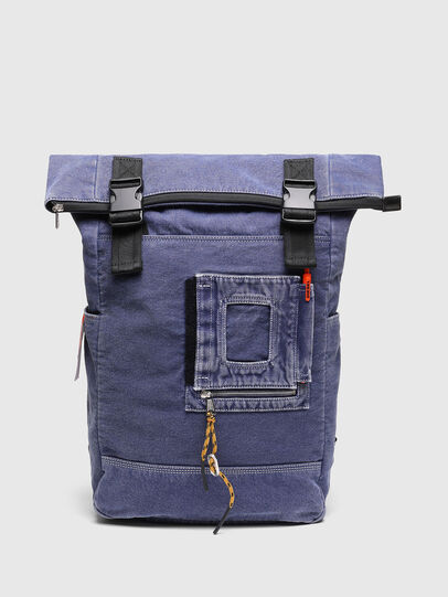 Diesel - FOLD, Blue - Backpacks - Image 1