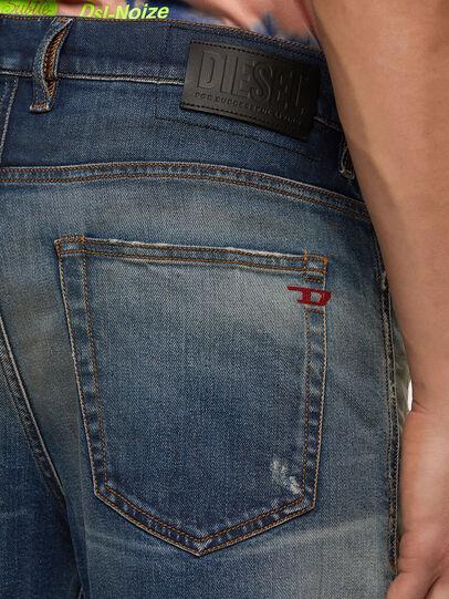 Diesel - D-Vider 009FR, Medium blue - Jeans - Image 4
