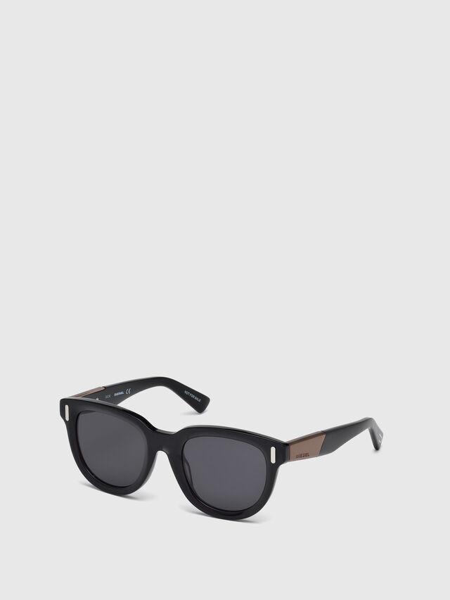 Diesel - DL0228, Black - Eyewear - Image 2