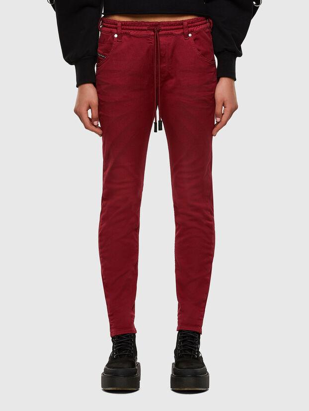 Krailey JoggJeans 0670M, Red - Jeans