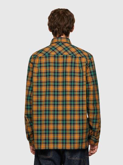 Diesel - S-JESS-CHECK, Orange/Green - Shirts - Image 2