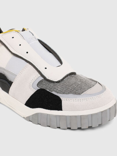 Diesel - S-RUA LOW DEC, White - Sneakers - Image 5