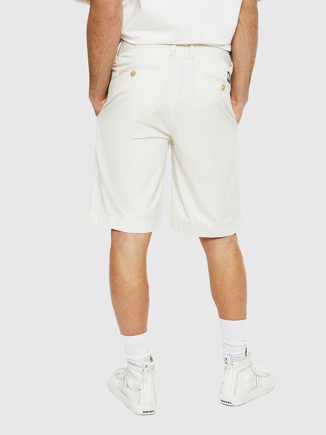 Diesel - P-WHOLSHO, White - Shorts - Image 2