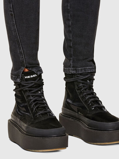 Diesel - D-Jevel 0870G, Black/Dark grey - Jeans - Image 5