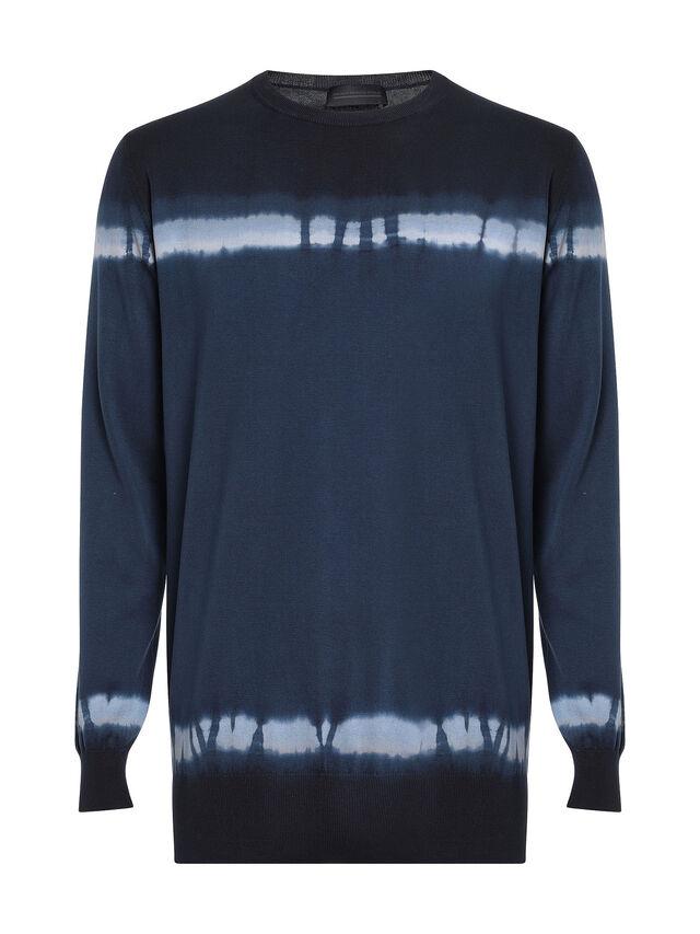 Diesel - KYED, Blue/Black - Knitwear - Image 1
