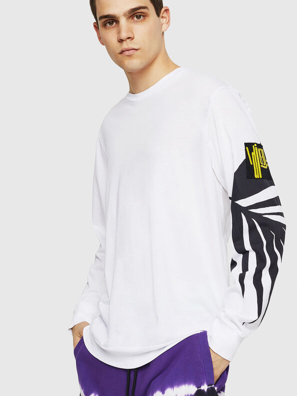 T-JUST-LS-RIB,  - T-Shirts