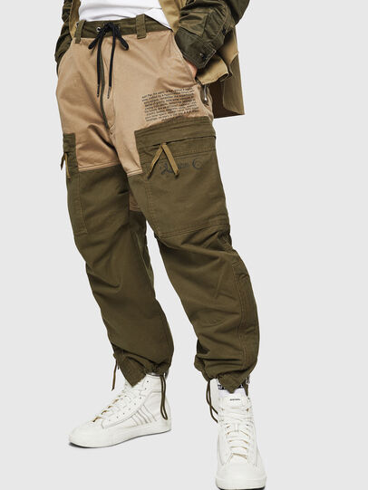 Diesel - P-LUKK, Military Green - Pants - Image 4