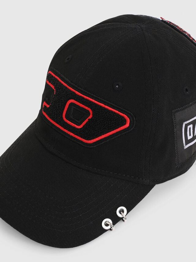Diesel - PS-CAP, Black - Caps - Image 3