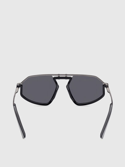 Diesel - DL0345, Black - Sunglasses - Image 4