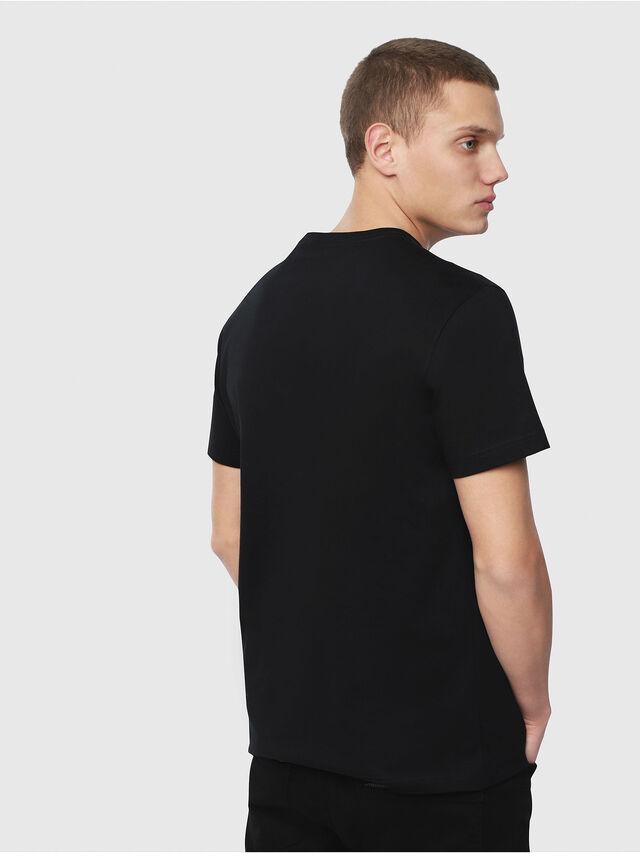 Diesel - T-DIEGO-YB, Black/Yellow - T-Shirts - Image 2