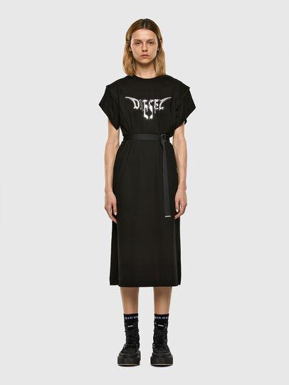 Diesel - D-FLIX-C, Black - Dresses - Image 5