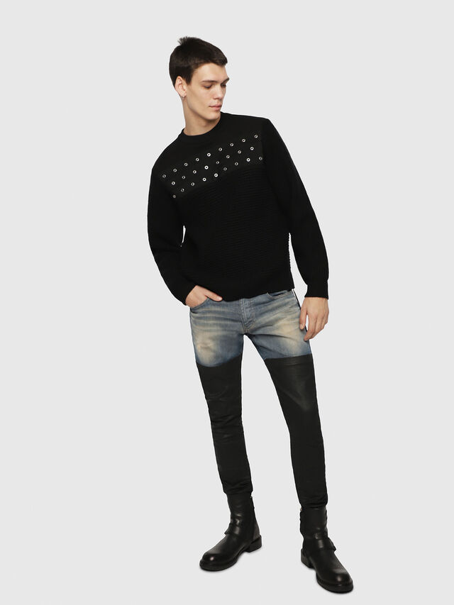 Diesel - K-RUSHIS, Black - Knitwear - Image 4