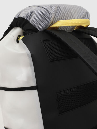 Diesel - F-SUSE BACKPCK, White/Yellow - Backpacks - Image 7