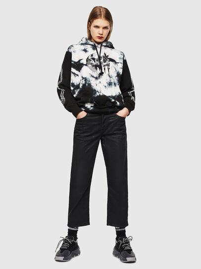 Diesel - S-ALBY-Y, Black/White - Sweaters - Image 6