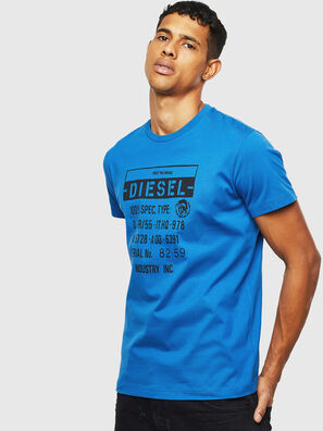 T-DIEGO-S1, Blue - T-Shirts