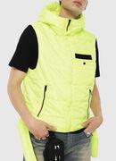 W-SUN-REV-SLESS, Yellow Fluo - Winter Jackets