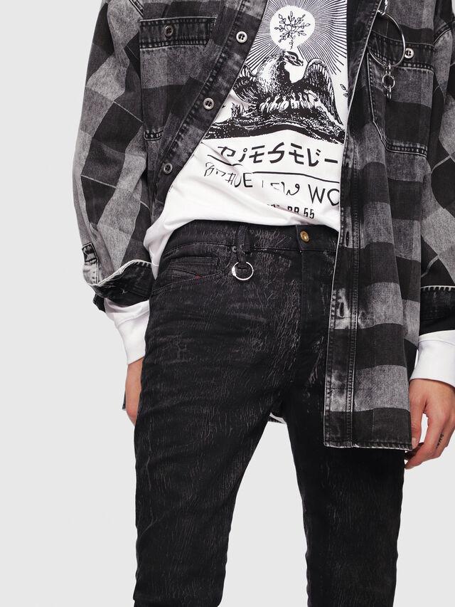 Diesel - D-Istort 069DE, Black/Dark grey - Jeans - Image 3