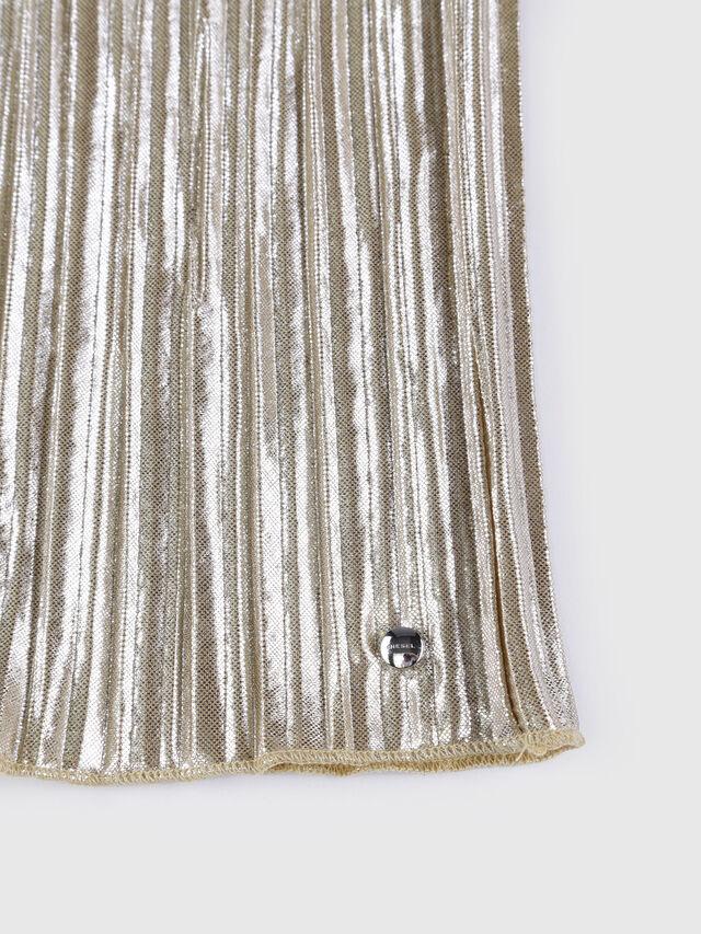 Diesel - GLOBI, Gold - Skirts - Image 4