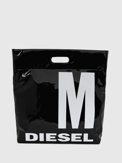 Diesel - F-LITT-HER M, Black - Shopping and Shoulder Bags - Image 1