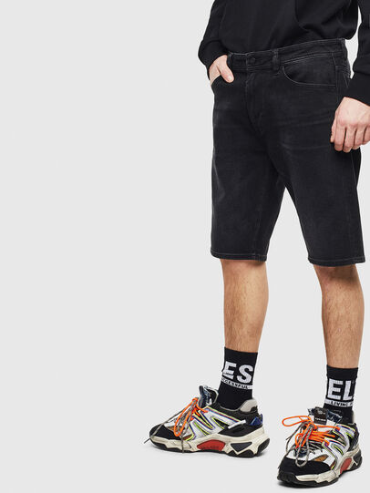 Diesel - THOSHORT, Black - Shorts - Image 4