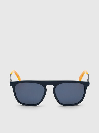 Diesel - DL0297, Blue/Yellow - Sunglasses - Image 1