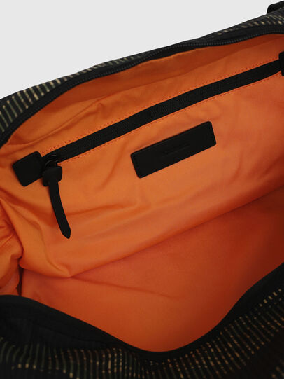Diesel - M-CAGE DUFFLE M, Black/Green - Travel Bags - Image 7