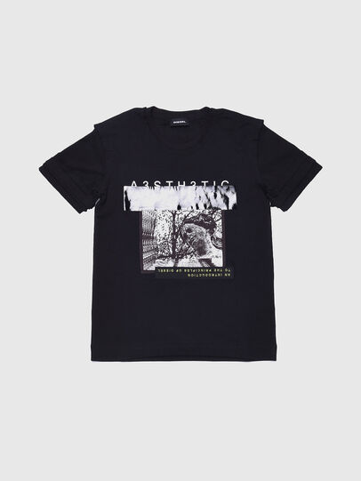 Diesel - TSILYWB, Black - T-shirts and Tops - Image 1