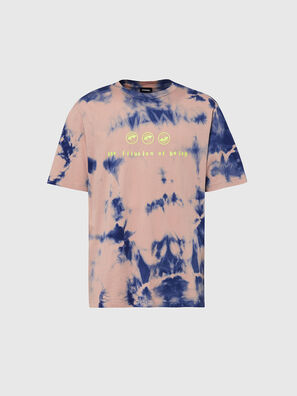 T-JUST-SLITS-X86, Pink/Blue - T-Shirts