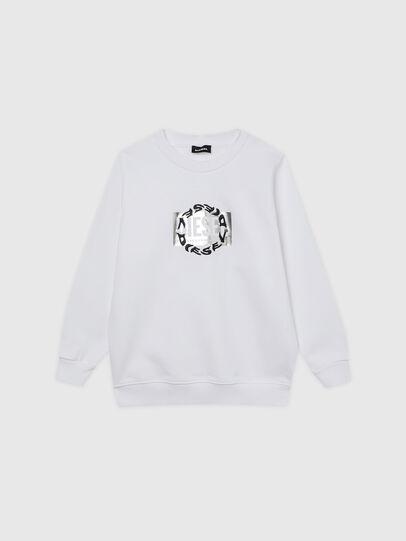 Diesel - SANGRSUC, White - Sweaters - Image 1
