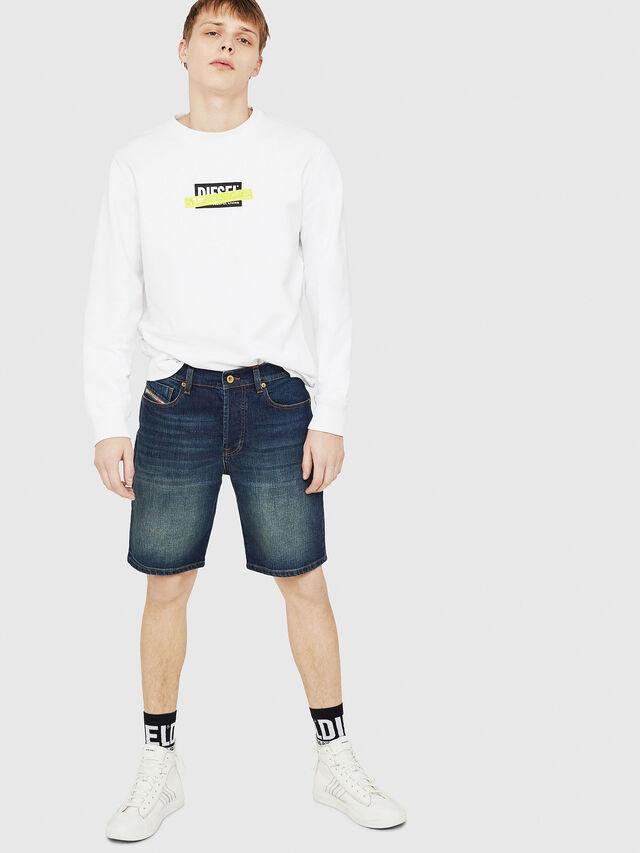 Diesel - D-MIRK, Medium blue - Shorts - Image 5