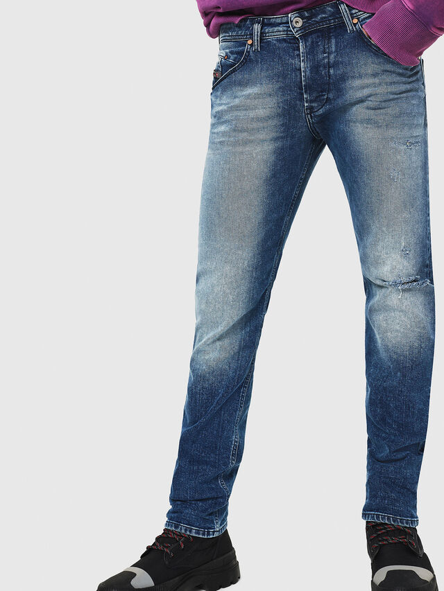 Diesel - Belther 081AQ, Medium blue - Jeans - Image 1