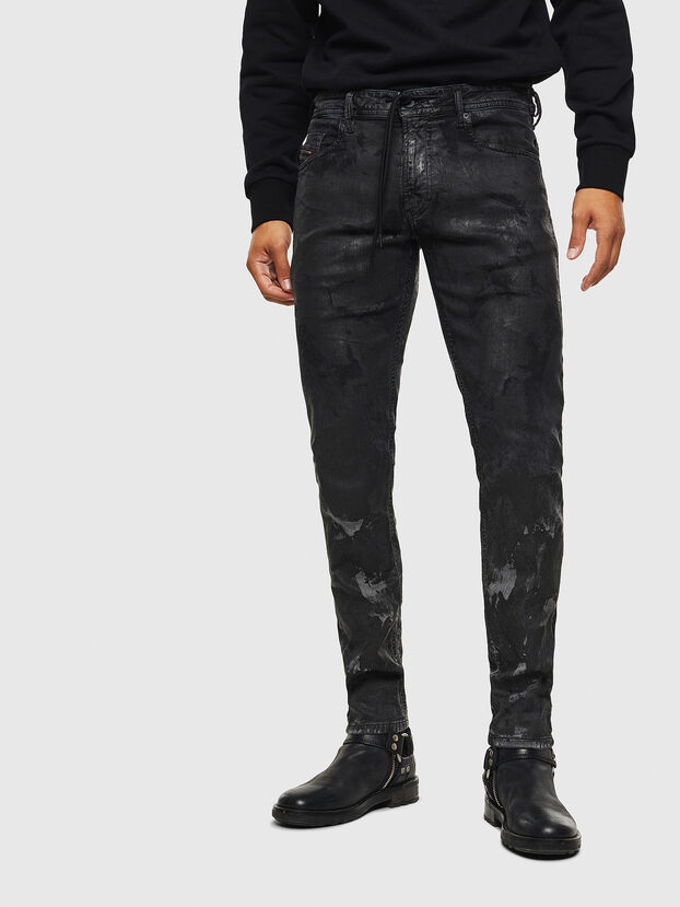 Thommer JoggJeans 084AI, Black/Dark grey - Jeans