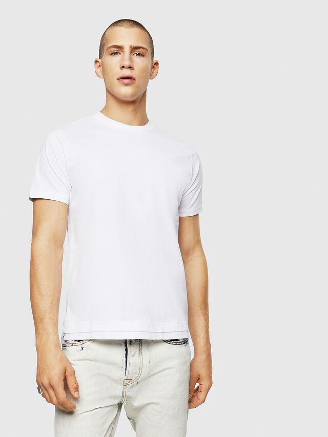 Diesel - T-DIAMANTIK-NEW, White - T-Shirts - Image 1
