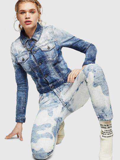 Diesel - D-Rifty 0890P, Light Blue - Jeans - Image 4