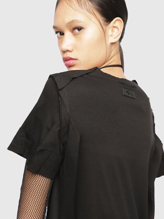 Diesel - T-ROCK, Black - T-Shirts - Image 3