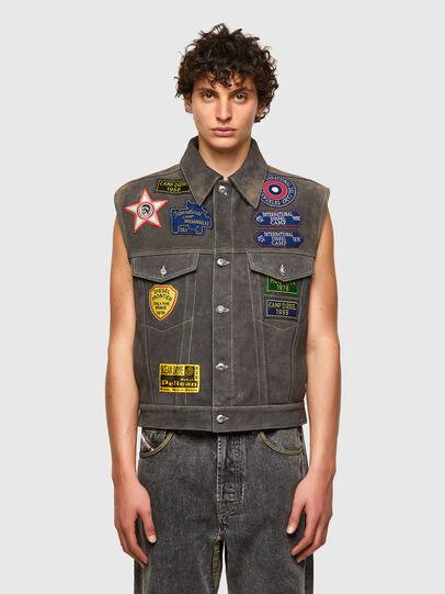 Diesel - DxD-4, Dark grey - Leather jackets - Image 2